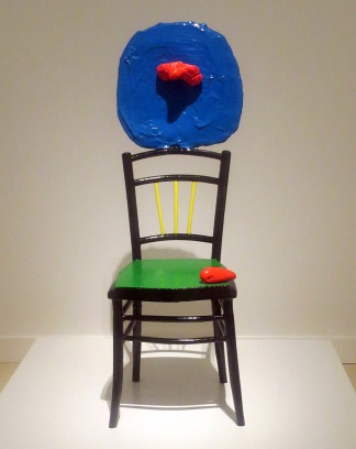 Mujer_sentada_y_niño_Miró_CaixaForum_EXPOARTEMADRID