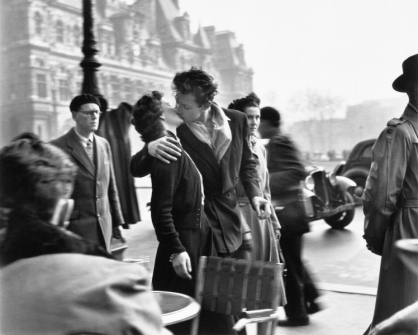 Robert Doisneau, Beso de l'Hôtel de Ville (1950) © Cortesía Fundación Canal