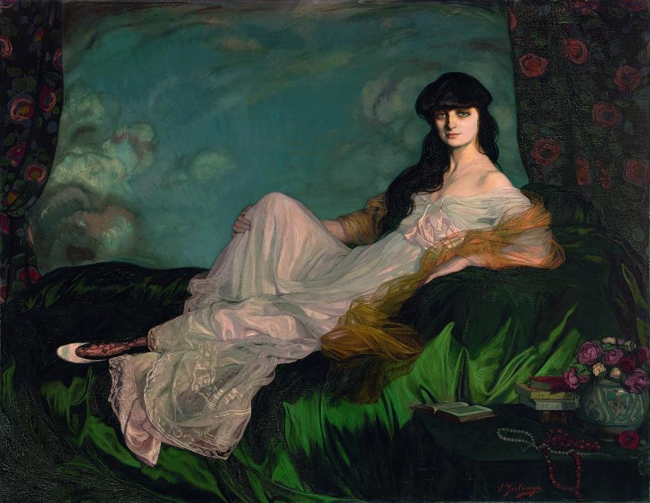 Retrato de la condesa Mathieu de Noailles_FundaciónMapfre_Expoartemadrid
