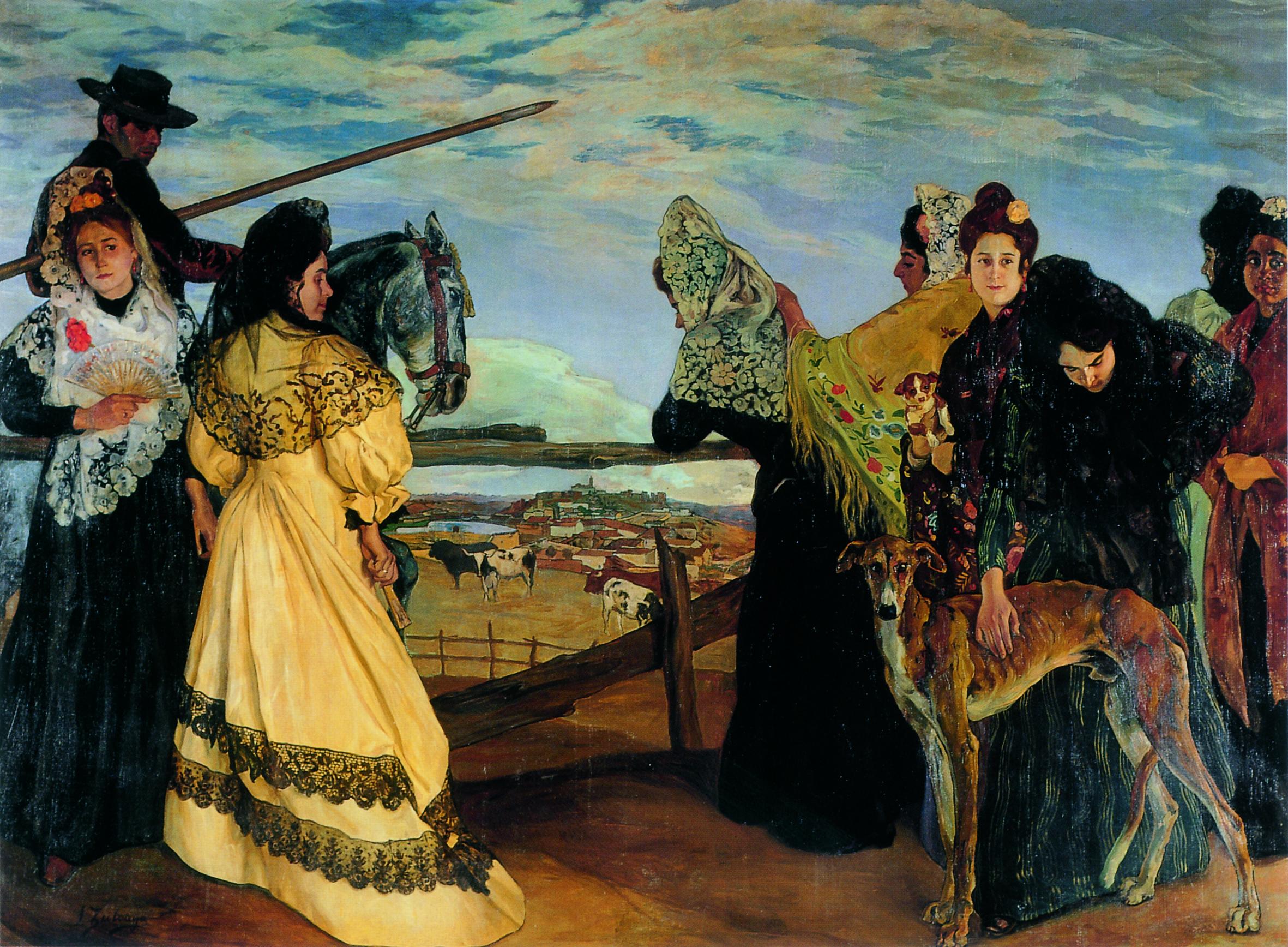 Vispera de la Corrida 1898 Ignacio Zuloaga