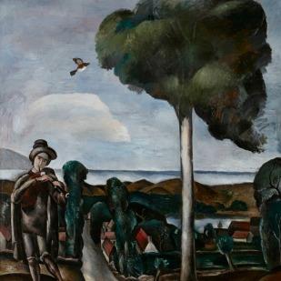 André Derain, El gaitero (1910-1911) © Cortesía Fundación Mapfre