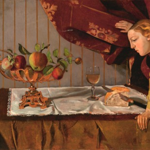 Balthus, Bodegón con una figura (La merienda)] (1940) © Cortesía Fundación Mapfre