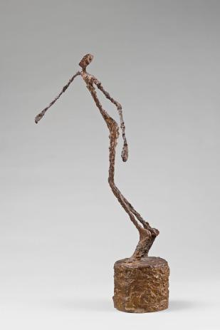 Alberto Giacometti, El hombre que se tambalea (1950) © Cortesía Fundación Mapfre