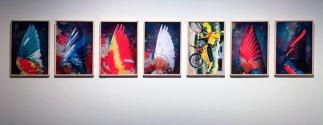 Vista de la exposición de Ricardo Cases en la Sala Canal de Isabel II © Marina Fertré