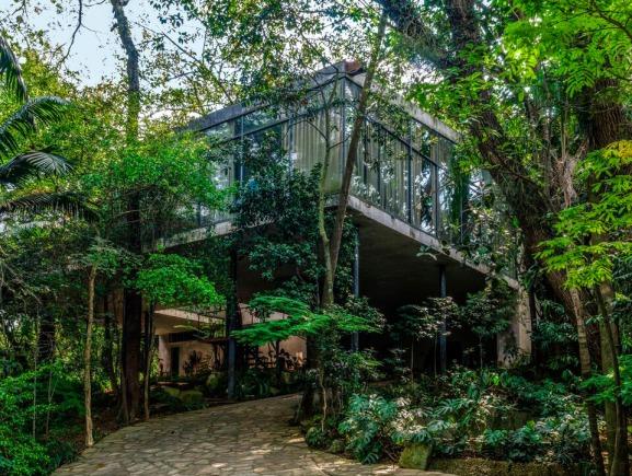 Casa de vidrio (Sao Paulo, 2007) de Lina Bo Bardi en la Fundación Juan March © José Manuel Ballester