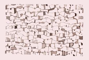 Ana ROMÃOZINHO, Sin título (2018). Rotulador sobre papel, 70 x 100 cm © Cortesía: Módulo – Centro Difusor de Arte, Lisboa
